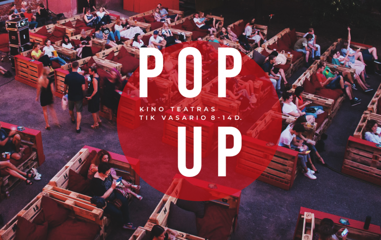 POP-UP kino teatras